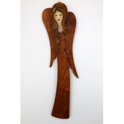 Drewniany Anioł