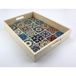 Duża taca Azulejos